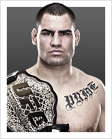 Cain Velasquez - Detentor do cintur&atilde;o: Heavyweight