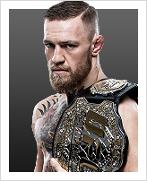 Conor McGregor - Detentor do cinturão: Featherweight