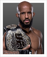 Demetrious Johnson - Detentor do cintur&atilde;o: Flyweight