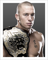Georges St-Pierre - Detentor do cintur&atilde;o: Welterweight