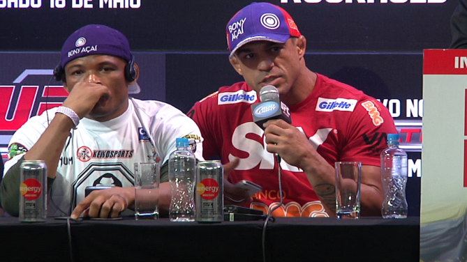 Watch the Post-Fight Presser