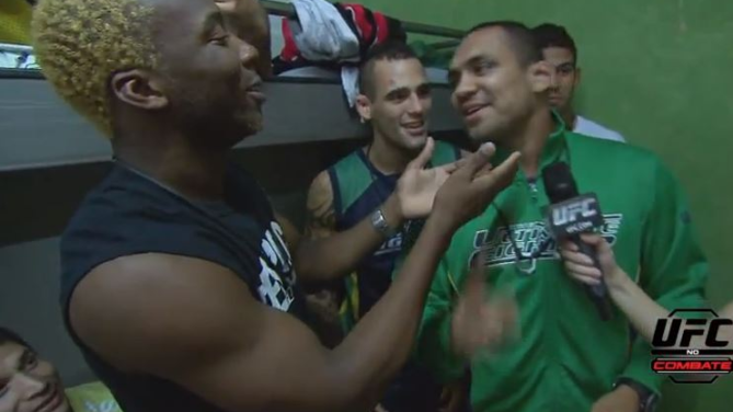 Os cantores do TUF Brasil 2
