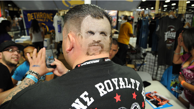 Sc&egrave;nes de l&#39;UFC Fan Expo