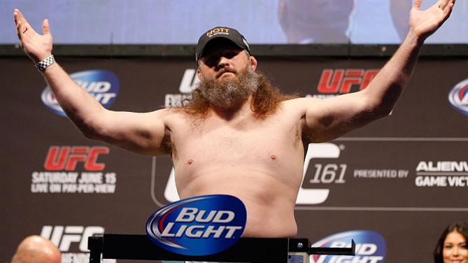 Roy Nelson In Abu Dhabi