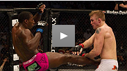 Two highly-touted prospects square off in this bout. Phil Davis transitioned from decorated collegiate wrestler to UFC fighter when he dismantled Brian Stann at UFC® 109. Alexander Gustafsson also turned heads at 109 with a stunning KO victory.