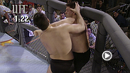 Dan Severn and Dave Beneteau face each other to see who will be the tournament champion at UFC 5.