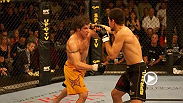Diego Sanchez proves that he is a legitimate contender to the welterweight crown held by Matt Hughes as he scores a shutout three round decision over heated rival Nick Diaz at the Ultimate Fighter 2™. Finale.