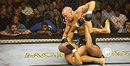 "Canadian welterweight contender Georges St. Pierre scored the most impressive victory of his young career. ""Rush"" was in control from end to end, and with less than a minute to go in the opening round, St. Pierre locked in a rear naked choke."