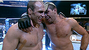 Randy Couture and Pedro Rizzo leave it all in the Octagon in this heavyweight title fight, which was one of 'The Natural's' toughest fights ever.