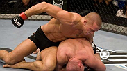 Welterweight Champion Matt Serra returns to the Octagon™ tot ake on interim Champion Georges St-Pierre in St-Pierre's hometown of Montreal, Canada. Will lightning strike twice for Serra or will St-Pierre get his revenge?