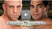 UFC&reg; 126 Prelim Fight: Kyle Kingsbury vs Ricardo Romero