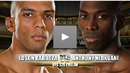 UFC&reg; 128 Prelim Fight: Edson Barboza vs Anthony Njokuani
