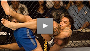 Leonard Garcia shows off his ground skills by submitting Allen Berube at the TUF 5 Finale.