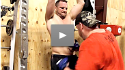 Hear what made Matt Hamill so strong and where he's testing his limits during this training camp.