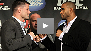 Belted champions, tough fighters, true patriots - at the UFC 130 press conference, Brian Stann and Jorge Santiago reveal that they have more in common than you might think.