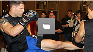 UFC 130 open workouts at the MGM Grand Hotel and Casino on May 26, 2011 in Las Vegas, Nevada.
