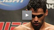 Renan Barao continues his amazing win streak with a victory over a resilient Cole Escovedo - hear the one thing he wishes he'd done differently.