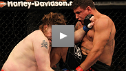He was battered and bloodied after the bout with Big Country, but Frank Mir's plan to win via aggression worked perfectly.