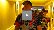 Hear from Frank Mir, Roy Nelson and Matt Hamill on Fight Day as they make their way to the Octagon.