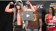 Watch the official weigh-in for the TUF 13 Finale, featuring Clay Guida vs. Anthony Pettis and TUF finalists Ramsey Nijem vs. Tony Ferguson.