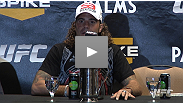 """Grappling was the key."" Clay Guida and Anthony Pettis talk about their war at the Ultimate Fighter Finale post-fight press conference."