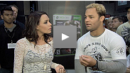 Welterweight Josh Koscheck gets a first look at UFC Personal Trainer for Kinect.