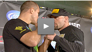 Hear from Dana White, Junior dos Santos, Shane Carwin, Kenny Florian, Diego Nunes, Sam Stout and Yves Edwards at the UFC 131 pre-fight press conference held June 9 in Vancouver, BC.