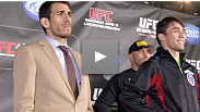 The stars of the UFC 131 co-main event talk title shots, weight cuts, and fight