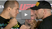 Headliners Junior dos Santos and Shane Carwin answer questions about their long layoffs - and discuss the Speed vs. Power debate - at the pre-fight presser for UFC 131.