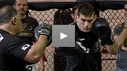 Paula Sack talks to Demian Maia as he prepares for his UFC 131 fight with Mark Munoz.