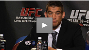 Sam Stout shares what it felt like to get his Hands of Stone back, and Mark Munoz talks about his journey up the middleweight ladder at the UFC 131 press conference.
