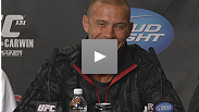 "Dave ""Pee Wee"" Herman talks about his first UFC fight (and win) while Donald ""Cowboy"" Cerrone ponders who he'd like to fight next - watch their highlights from the UFC 131 post-fight press conference."