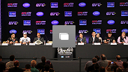 UFC&reg; 134 RIO Press Conference Photo Gallery