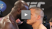 There were no shortage of heated moments when the stars of UFC Live: Kongo vs. Barry hit the scale in Pittsburgh. Catch all the excitement from the official weigh-in.