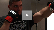 A victorious Matt Mitrione gives his opponent Christian Morecraft credit for a solid game and a patient fight.
