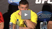 Cheick Kongo, Matt Mitrione and Pat Barry brought flying fists and massive power to the crowd in Pittsburgh, who loved every bit of the two heavyweight bouts on the card. Hear from KO-artists Kongo and Mitrione and the game Barry after the fights.