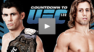 Countdown to UFC 132: Cruz vs. Faber - The most heated rivalry in the history of the bantamweight division will reach a boiling point at UFC 132, when champion Dominick Cruz defends his title against the only man to defeat him, Urijah Faber.