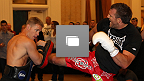 UFC® 132: Open Workouts Photo Gallery