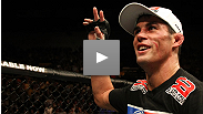 Dominick Cruz made history by winning his first UFC Bantamweighttitle defense. Hear why he now considers himself undefeated, and why he has a newfound respect for opponent Urijah Faber.