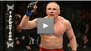 Dennis Siver was able to grind out a win against a
