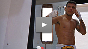 BJJ wizard Rafael Dos Anjos shocks the world with a lightning-quick KO of fellow grappler George Sotiropoulos. Hear his thoughts on the fight, and where he sees himself in the next few years.