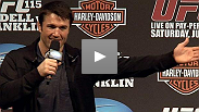 "Back and ready to regain back his throne, Chael Sonnen previews the Wanderlei Silva Chris Leben fight plus he talks about getting ready to defend ""his"" UFC Middleweight Championship."