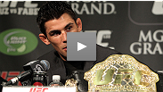 Hear from Dana, Cruz, Leben, Tito and more at the UFC® 132 post-fight presser.
