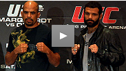 First scheduled to fight at UFC 122 last winter, Jorge Rivera and Alessio Sakara sounded off at the pre-fight press conference. Hear what they had to say then about the matchup, and you'll understand why Philly expects fireworks next month.