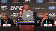 The stars of UFC&reg; 133 talk about their careers, sacrifices, and upcoming bouts at the pre-fight press conference for UFC&reg; 133: Evans vs. Ortiz.