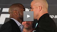Former champions Rashad Evans and Tito Ortiz talk rematches, gameplans, and their current spots in the light heavyweight ranks at the pre-fight press conference for UFC® 133.