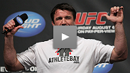 """And that's exactly how it happened."" In one of the most memorable Q&A sessions ever, the always-entertaining Chael Sonnen answers fans' questions before the weigh-in for UFC® 133."