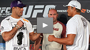Yoshihiro Akiyama, Vitor Belfort, Rory MacDonald and Mike Pyle talk about their upcoming bouts at the pre-fight press conference for UFC® 133.