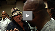 After his Fight of the Night performance, Rashad Evans describes what it felt like to finish Tito Ortiz... and Mickey Rourke talks about how good this main event was.