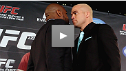 Their words were sharp, the tension was high and the hype was turned all the way up - now see what went on backstage at yesterday's UFC 133 press conference.